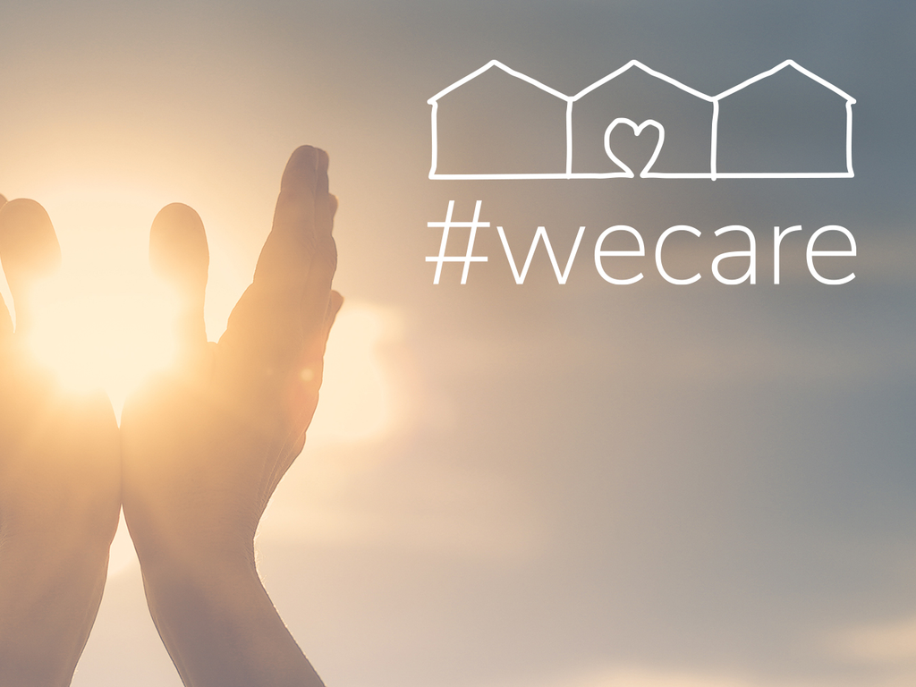 #wecare, and we want you to know it