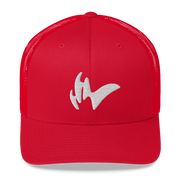 Casquette à filet rouge