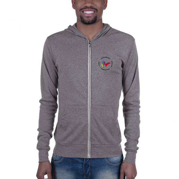 Sweat zippé gris FFHandisport