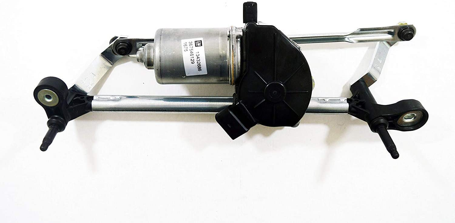 Vauxhall Corsa (2006-) Front Windscreen Wiper Motor & Linkage New OE Part 13432686
