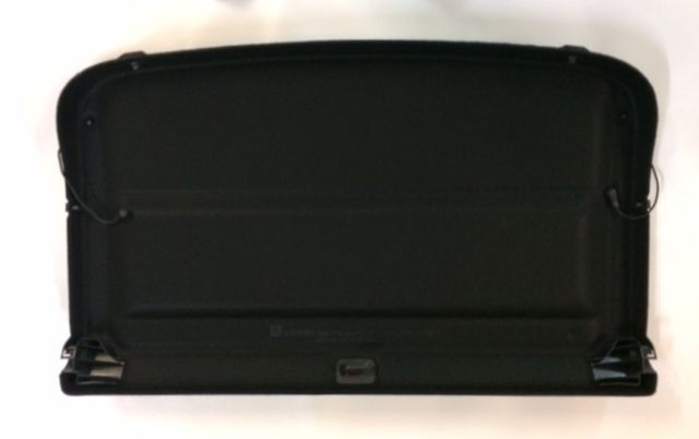 GENUINE ASTRA J (2009- ) 5 DOOR REAR PARCEL SHELF LOAD COVER BLACK NEW 13292208