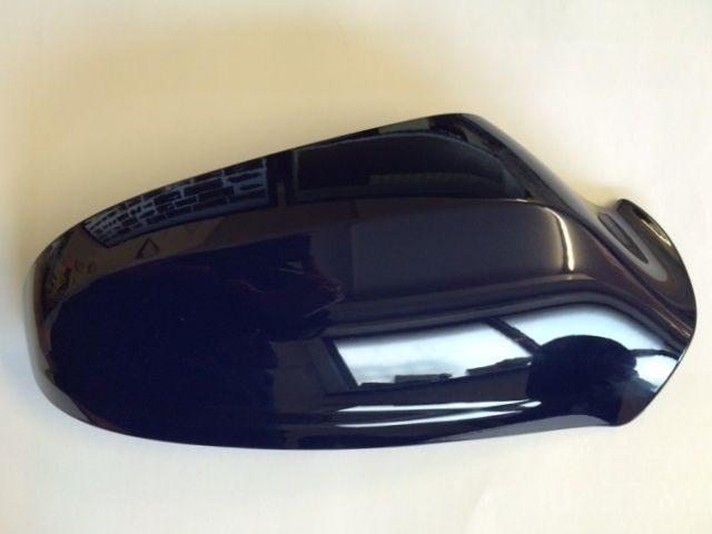 VAUXHALL ASTRA H (2004 - 2009) O/S DOOR MIRROR COVER PAINTED ROYAL BLUE NEW