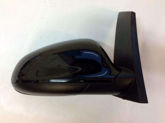 ASTRA J (2010-) 5 DR O/S DRIVERS SIDE DOOR WING MIRROR PAINTED BLACK NEW