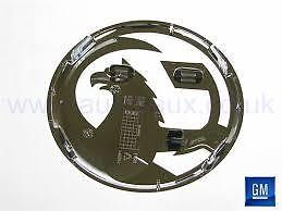 GENUINE VAUXHALL ASTRA J, CORSA D VXR FRONT UPPER GRILLE BADGE NEW 13264461