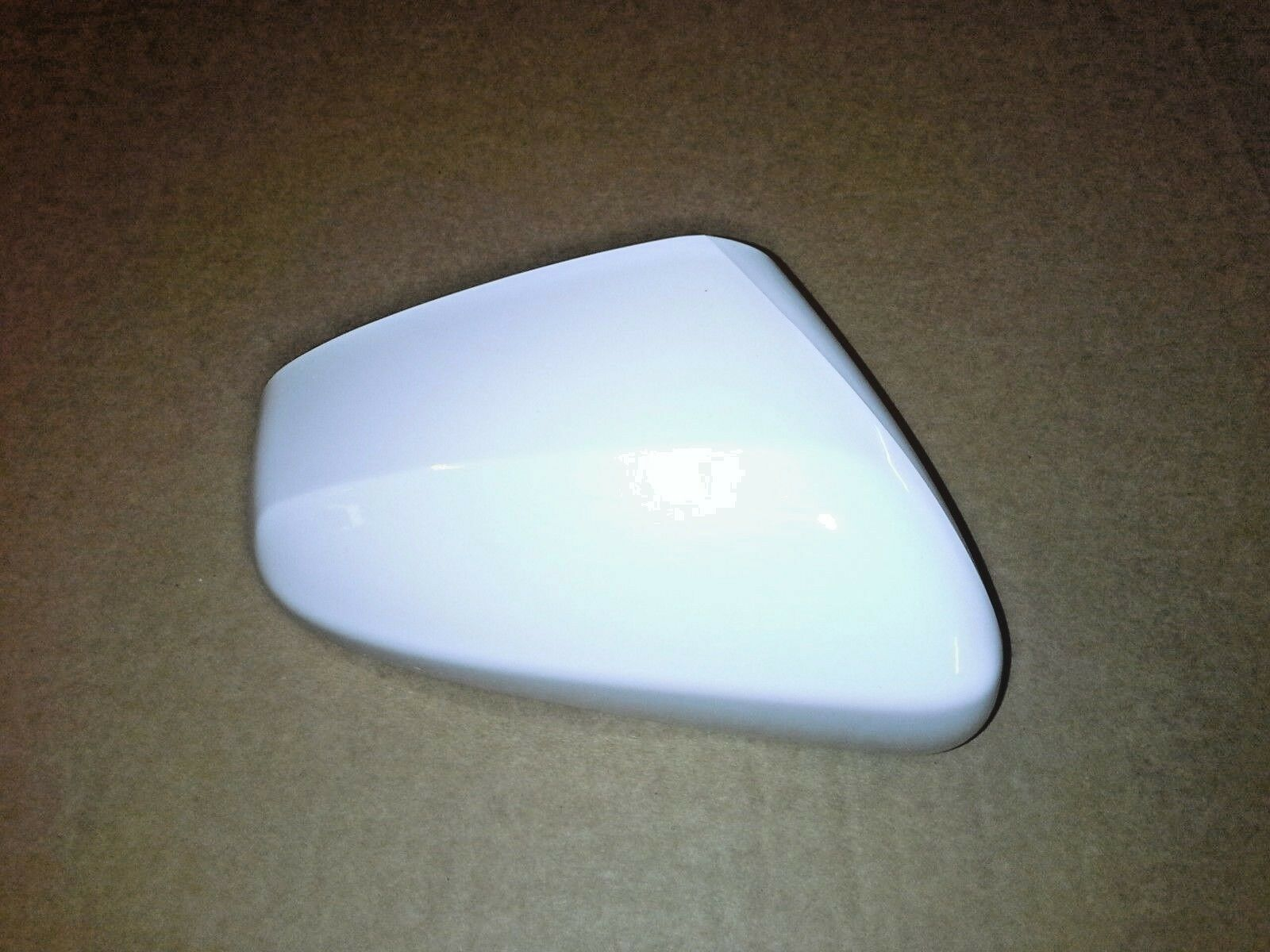 Vauxhall Viva (2016-) Drivers Wing Door Mirror Cover Painted Summit White GAZ New