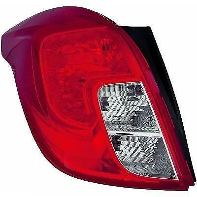 VAUXHALL MOKKA N/S PASSENGER SIDE LEFT HAND REAR LIGHT UNIT NEW 42435941