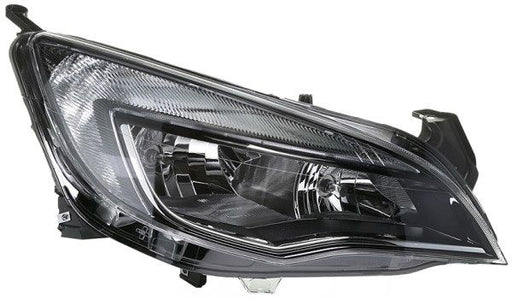GENUINE VAUXHALL ASTRA J O/S FRONT HEADLIGHT WITH RUNNING LIGHT 13371602 NEW