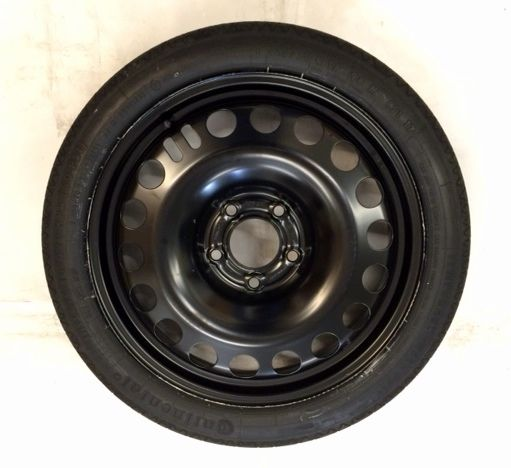 "VAUXHALL ASTRA J (2010- ) 16"" SPARE WHEEL SPACE SAVER WHEEL AND TYRE NEW"