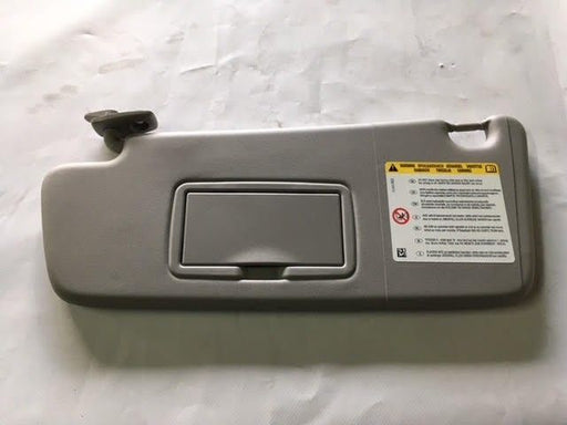VAUXHALL MERIVA B (2010- ) N/S SUN VISOR GREY LIGHT TITANIUM NEW 13397781