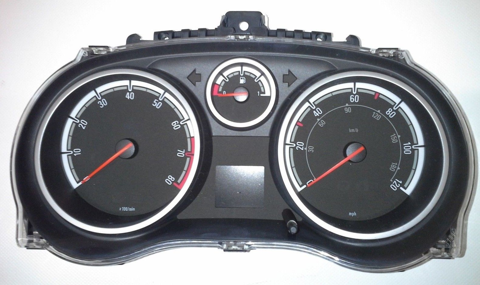 GENUINE VAUXHALL CORSA D PETROL MANUAL TRANSMISSION  SPEEDO HEAD 13373003 NEW