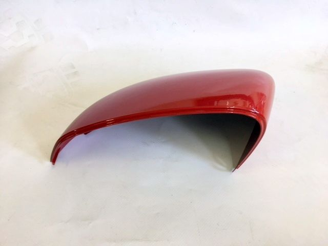 VAUXHALL ADAM N/S PASSENGER SIDE DOOR WING MIRROR COVER CASING PAINTED RED NEW