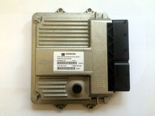 Vauxhall Corsa D 1.3 Diesel Engine ECU New OE Part 55568385 55568383