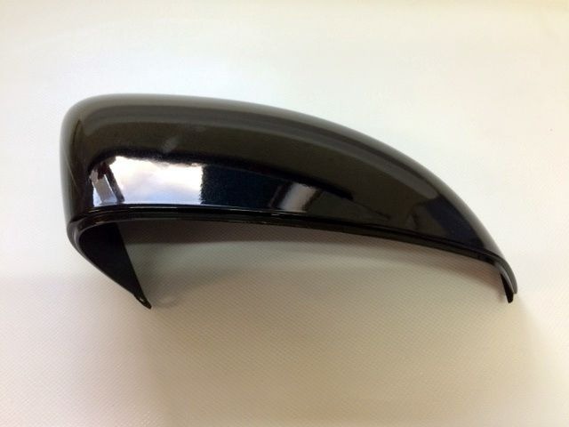 Vauxhall Adam O/S Drivers Side Door Wing Mirror Cover Casing Painted Black New