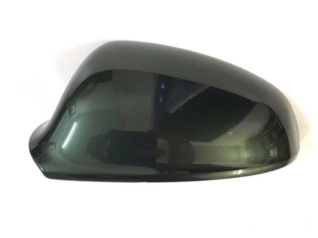 VAUXHALL ASTRA J PASSENGER N/S DOOR MIRROR COVER PAINTED MYTH GREEN 30K  NEW