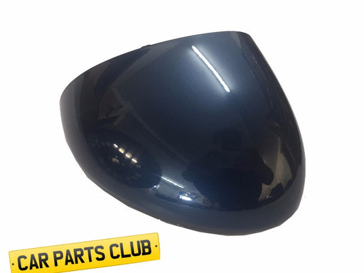 VAUXHALL MERIVA B DRIVERS SIDE O/S 22W KNIT BLUE DOOR WING MIRROR COVER H07