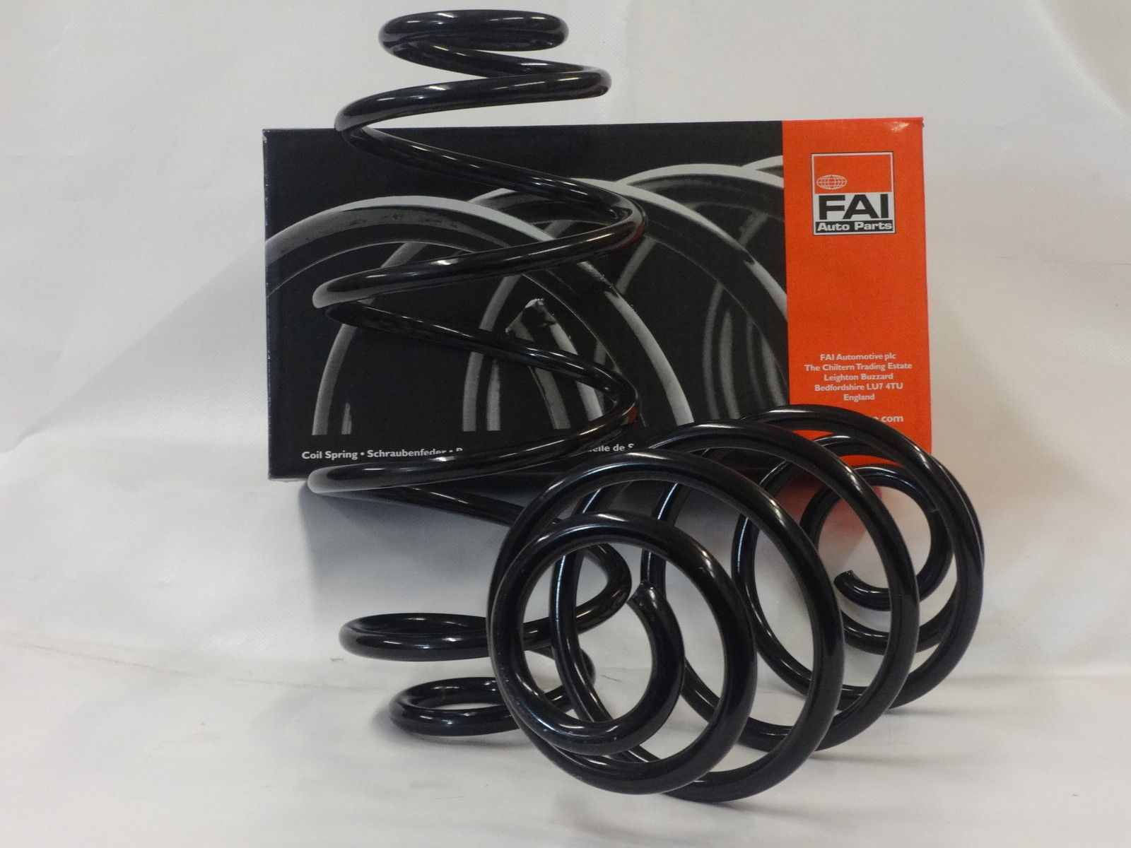 VAUXHALL CORSA D (2006-) REAR SUSPENSION COIL SPRINGS PAIR NEW 93188900