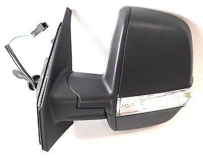 Vauxhall Combo Van (2012-) Passenger N/S Manual Door Mirror with Indicator New