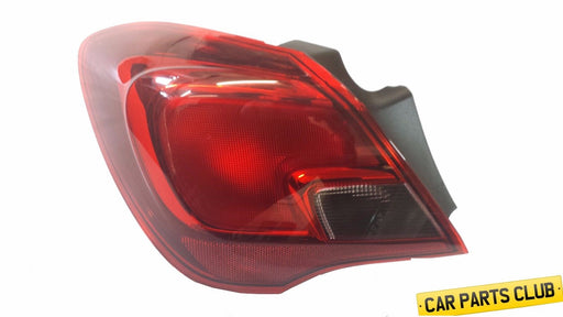 VAUXHALL CORSA E (2015- ) 3 DOOR N/S OUTER REAR LIGHT 39090650 13454498