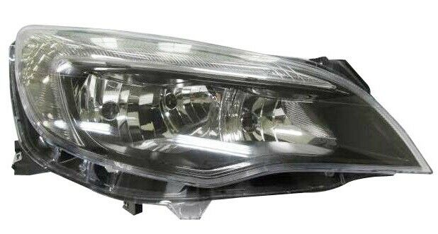 VAUXHALL ASTRA J (2009-) O/S FRONT HEADLIGHT WITH LED RUNNING LIGHT 13365290 NEW
