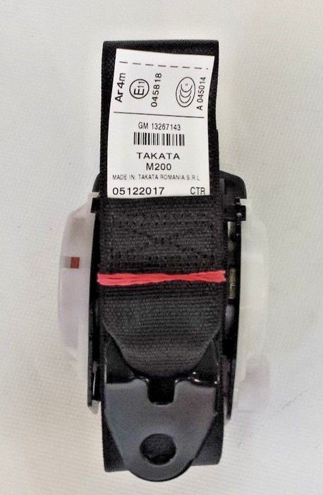 Vauxhall Insignia A (2013-2017) Rear Centre Seat Belt New OE Part 13267143