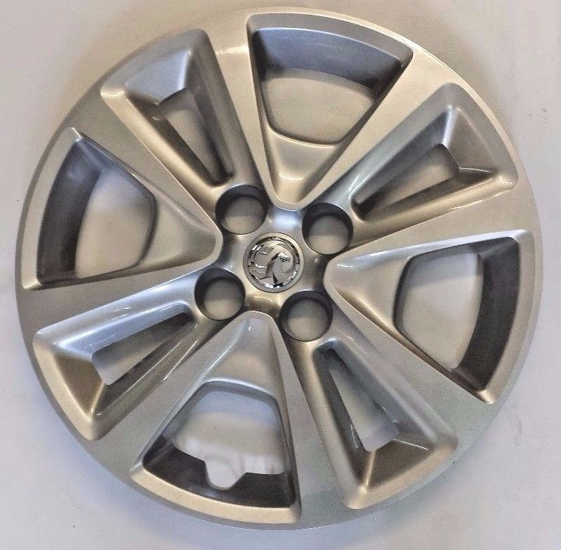 "GENUINE VAUXHALL CORSA E (2015- ) 15"" WHEEL TRIM COVER IDENT AAMP 13380937 NEW"