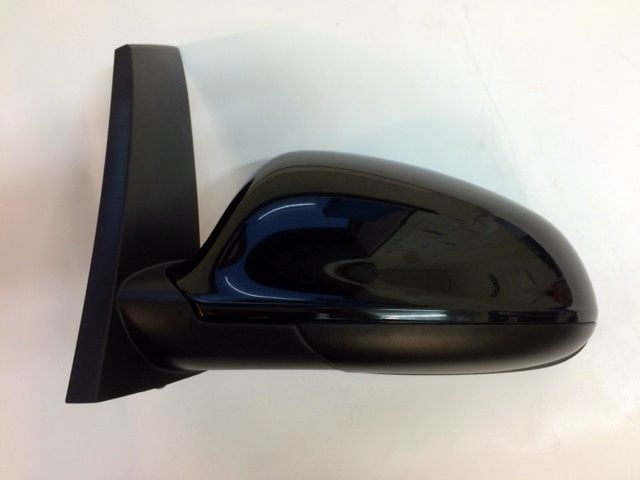 ASTRA J (2010-) 5 DR N/S PASSENGER SIDE DOOR WING MIRROR PAINTED BLACK NEW