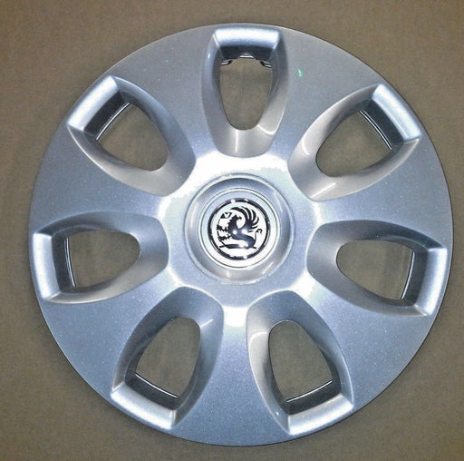 "GENUINE VAUXHALL CORSA D (2006-2014) 15"" WHEEL TRIM COVER IDENT QC 13265185 NEW"