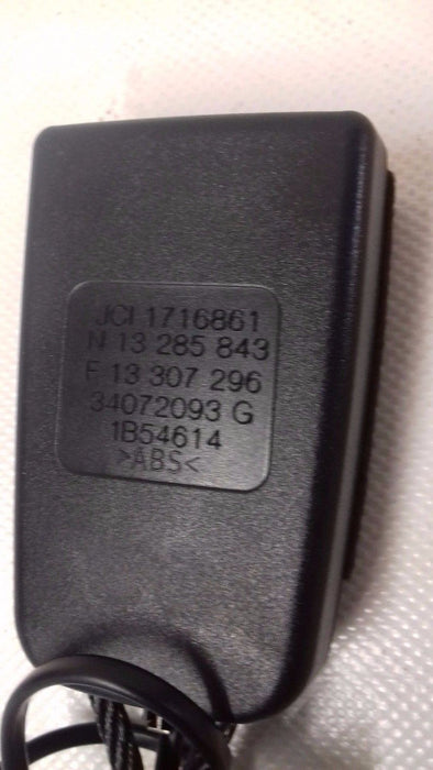 GENUINE VAUXHALL MERIVA B REAR SEAT LOCK WITH WARNING 13307296 DRIVER SIDE