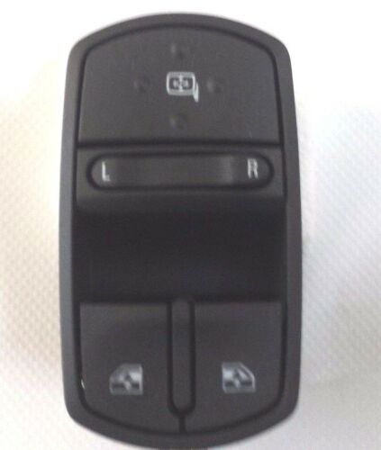 Vauxhall Corsa D Drivers Side Front Window Mirror Switch New OE Part 13258521