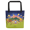 The Autumn Wind - All-Over Print - Tote Bag