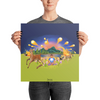 The Autumn Wind - Premium Luster Photo Paper Poster (in) - Poster