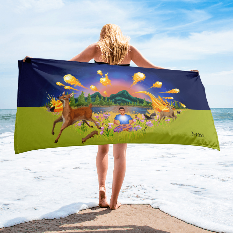 The Autumn Wind - Sublimated Towel - Towel