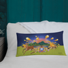 The Autumn Wind - All Over Print Premium Pillow - Throw Pillow