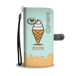 JOJI® WE SCREAM CONE PHONE WALLET CASE