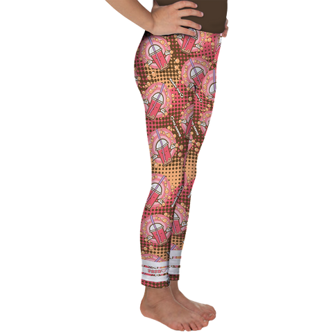 JOJI® BUBBLE TEA LOVE LEGGING - GIRLS