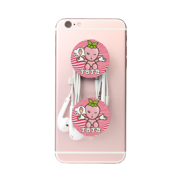 JOJI® STRAWBERRIES FOREVER CELL PHONE STAND