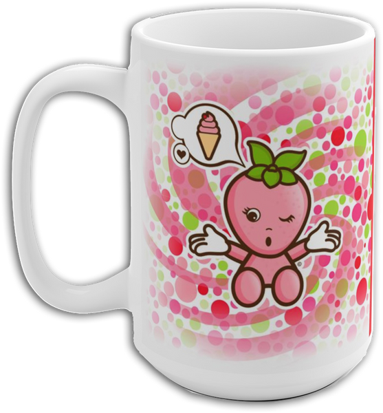 JOJI® STRAWBERRIES FOREVER MUG