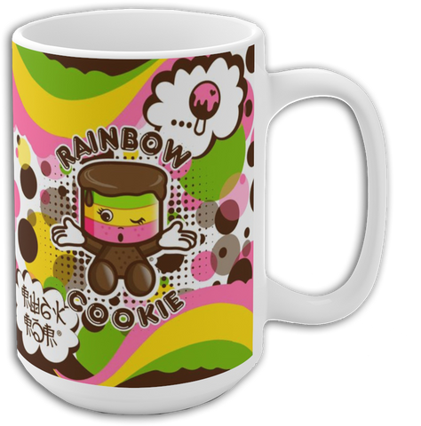 JOJI®  OVER THE RAINBOW COOKIE MUG