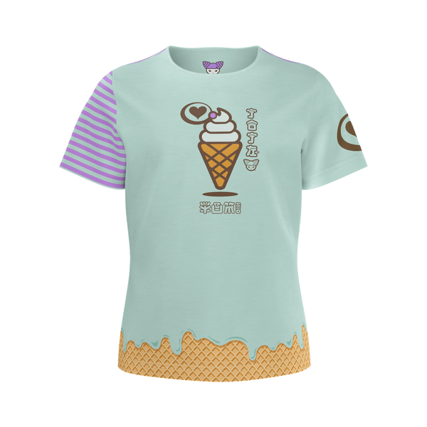 JOJI® WE SCREAM CONE TEE - GIRLS