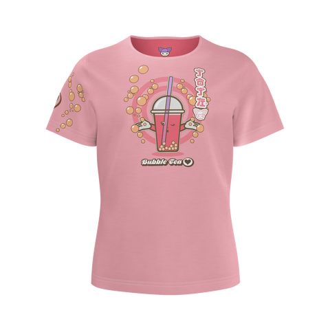 JOJI® BUBBLE TEA LOVE TEE - GIRLS