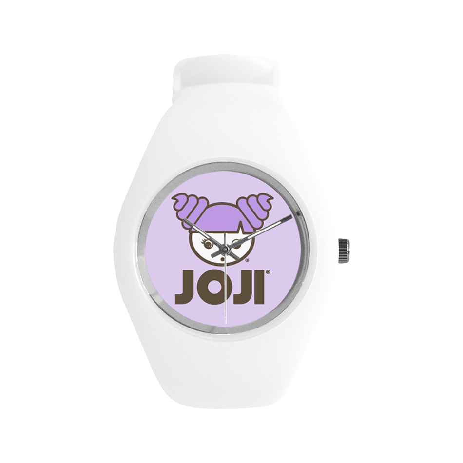 JOJI® GIRL LOGO SILICONE WATCH
