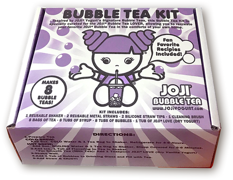 JOJI® CUSTOM BUBBLE TEA KIT