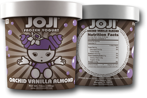 ORCHID VANILLA ALMOND PINT -  PACKS