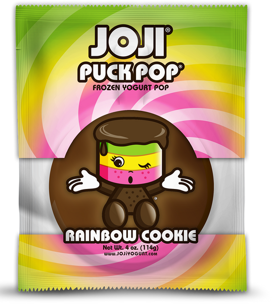 RAINBOW COOKIE SIGNATURE PUCK POP® -  PACKS