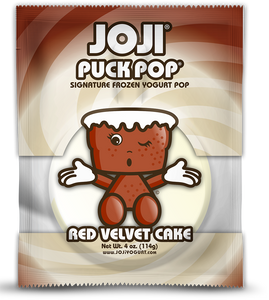 RED VELVET CAKE SIGNATURE PUCK POP® -  PACKS