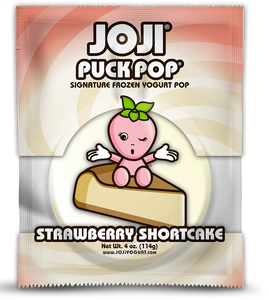 STRAWBERRY SHORTCAKE SIGNATURE PUCK POP® -  PACKS