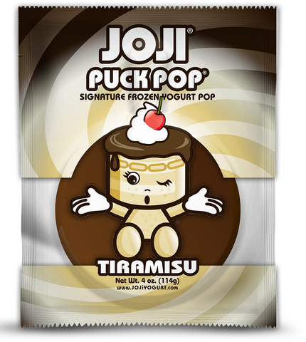 TIRAMISU SIGNATURE PUCK POP® -  PACKS