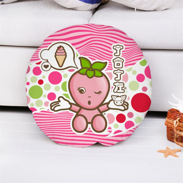 JOJI® STRAWBERRIES FOREVER PILLOW COVER