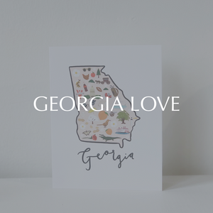 Shop for state of Georgia nostalgic and pride items at The Gibson Co Cumming Georgia and online