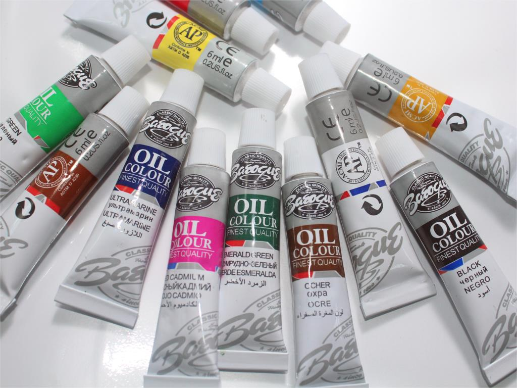 12 Color Oil Paint Set - Terra Art Shop